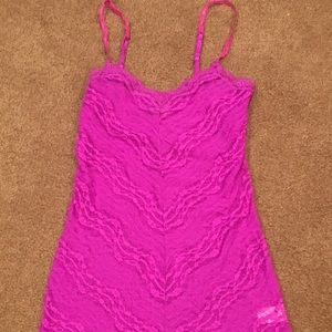 Free People long lace camisole